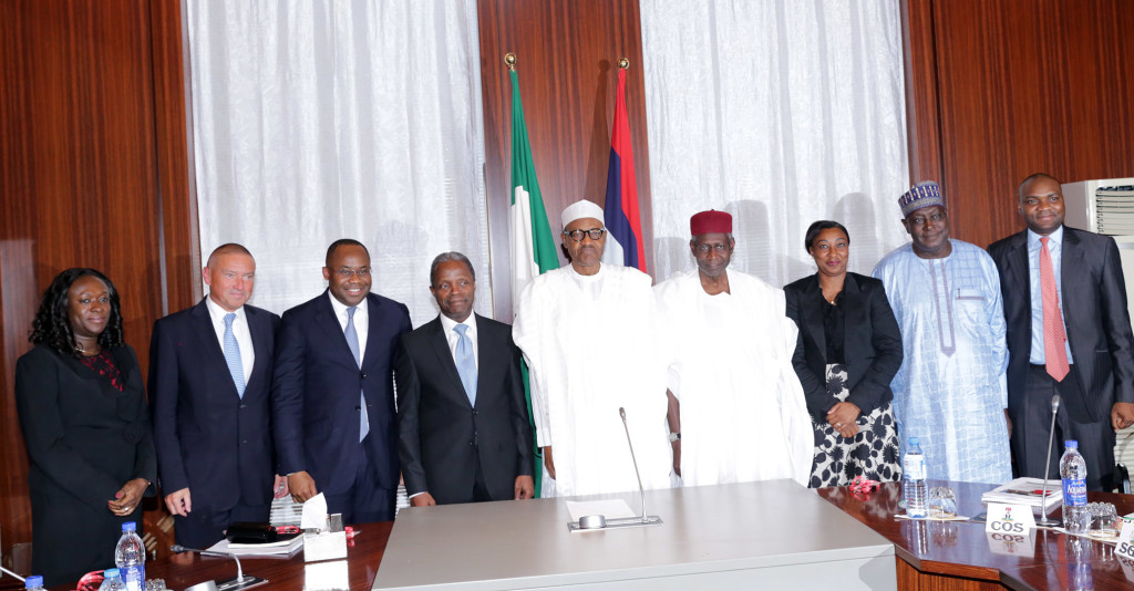 President Mohammadu Buhari and the Federal Executive CouncilPresident Mohammadu Buhari and the Federal Executive Council; Presidential Villa, Aso Rock, Abuja; August 19, 2015.