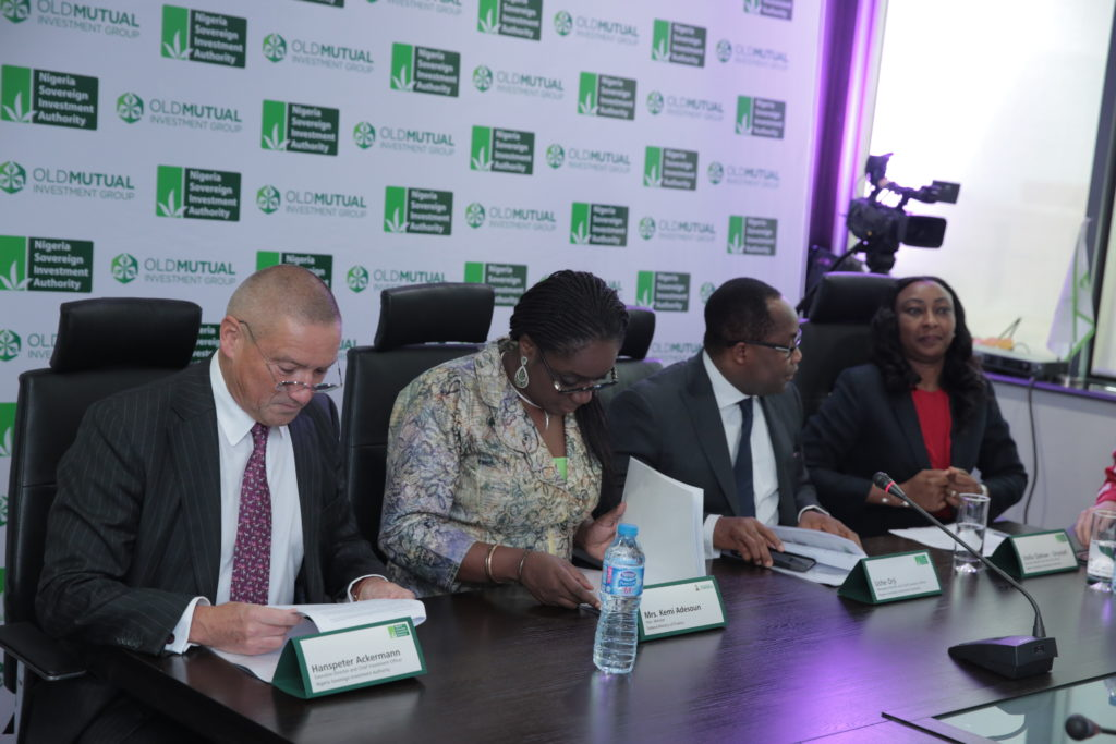 NSIA – OMIG AGREEMENT SIGNING